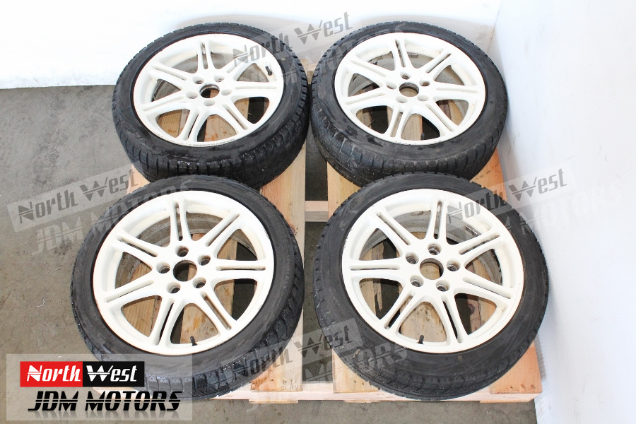 JDM 02 05 Honda Civic Type R EP3 Wheels And Tires 17×7 Offset 45 5×114.3