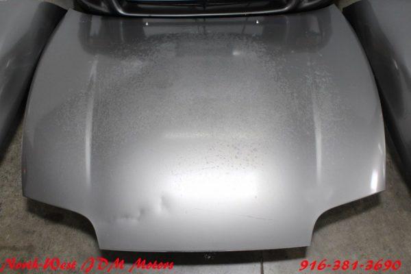 1998 SUPRA MK4 GREY JDM FRONT NOSE CLIP CONVERSION