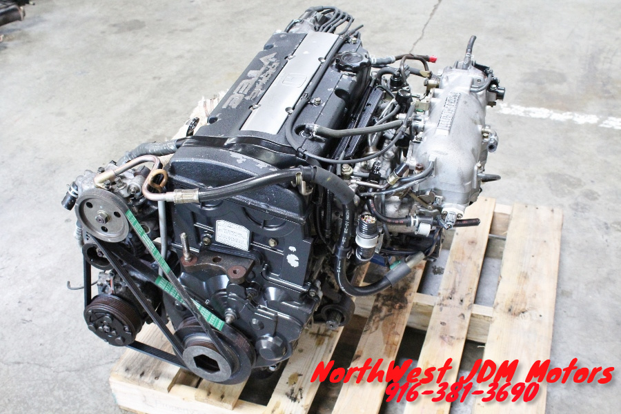 JDM 92-96 Honda Prelude Accord H22A DOHC Vtec Engine 5 ...