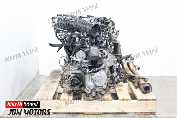 JDM 88-91 Honda Civic SIR B16A DOHC Vtec Engine 5 Speed Transmission