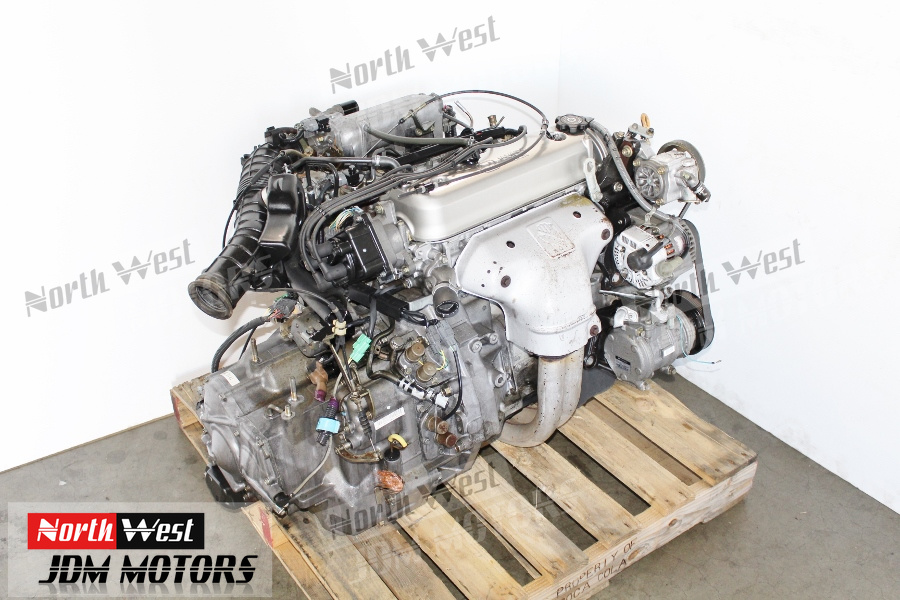 Engine And Transmission >> Jdm 94 97 Honda Accord F22b Non Vtec Engine And Automatic Transmission Japanese Car Parts
