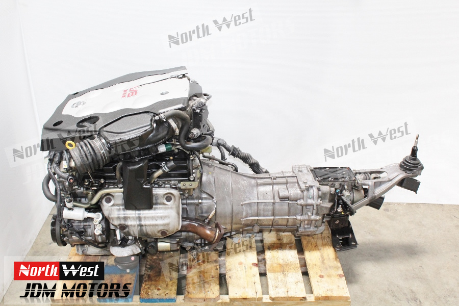 Engine And Transmission >> Jdm 03 04 Nissan 350z Infiniti G35 Vq35de Engine 6 Speed Rwd