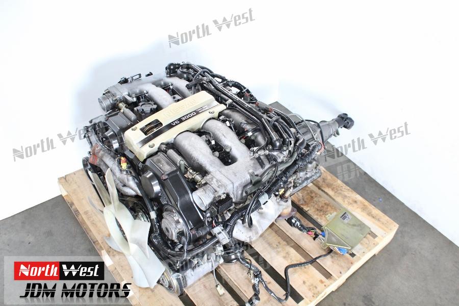 JDM 90-95 Nissan 300ZX VG30DE Engine 3 0L Fairlady Z NON-Turbo Motor -  Japanese Car Parts