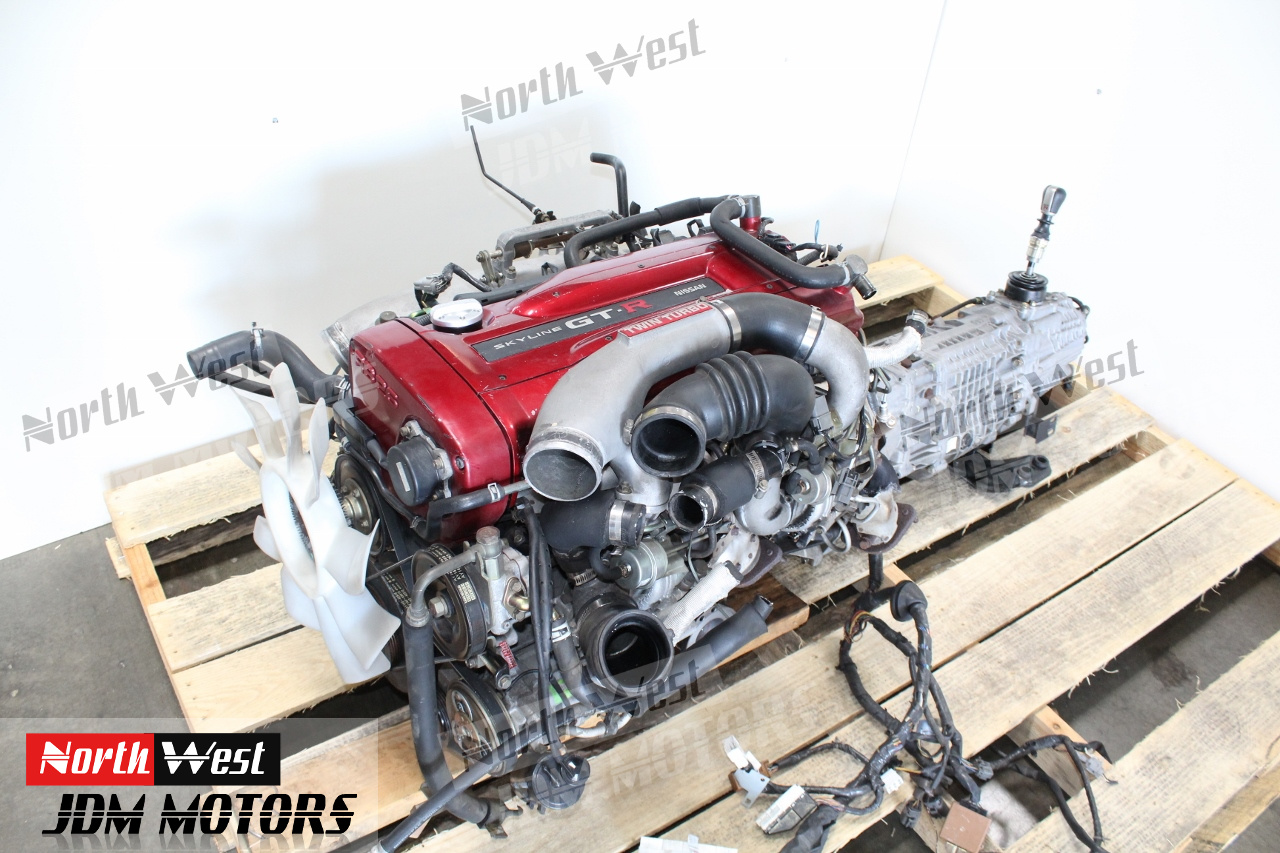 1999-2002 NISSAN SKYLINE GTR R34 RB26DETT TURBO ENGINE SWAP 2 6L - Japanese  Car Parts
