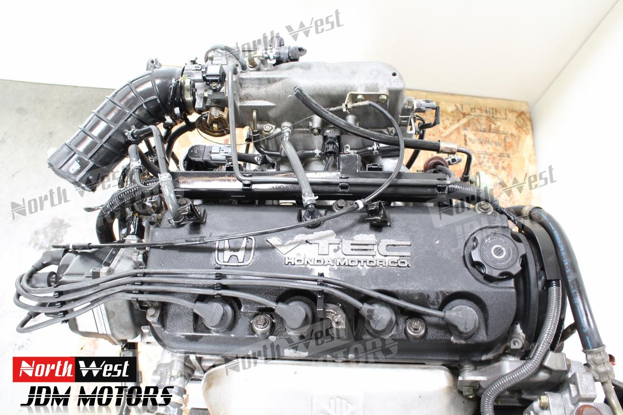 honda accord engine fa sohc vtec motor   cyl jdm japanese car parts