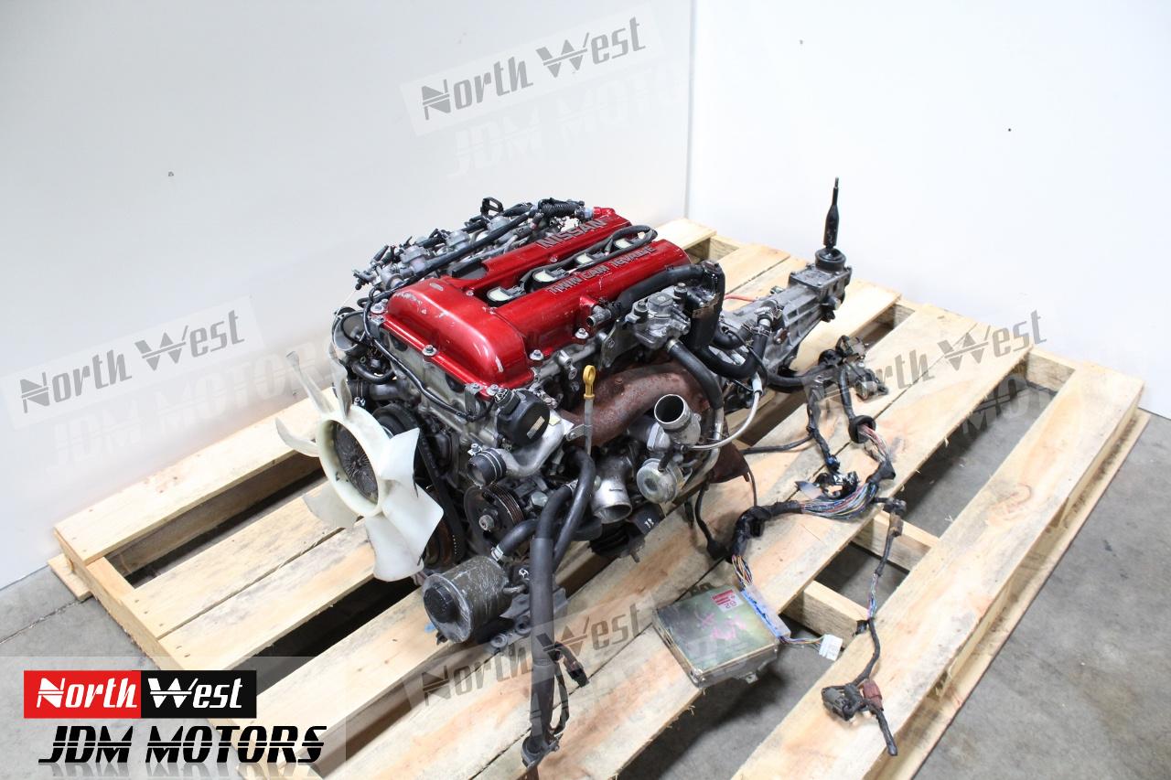JDM Nissan SR20DET Engine 5 Speed S13 SR20 Turbo 180SX Silvia 240SX -  Japanese Car Parts