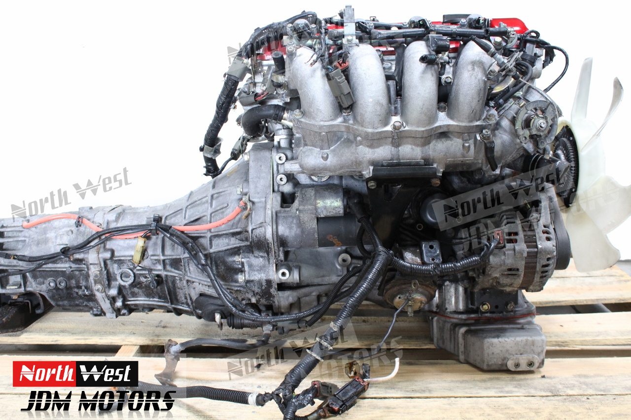 JDM Nissan SR20DET Engine 5 Speed S13 SR20 Turbo 180SX Silvia 240SX -  Japanese Car Parts
